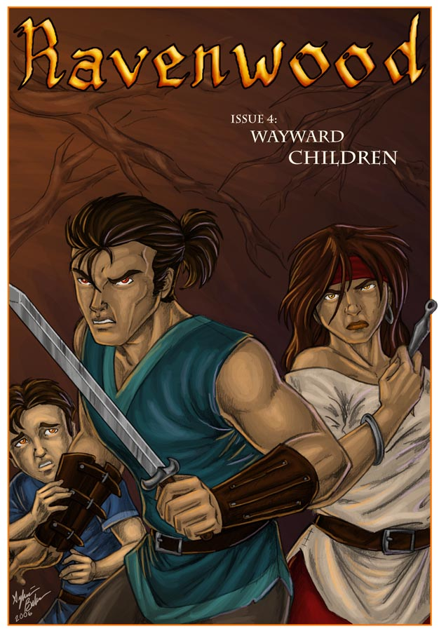 Ravenwood Issue 4 Cover