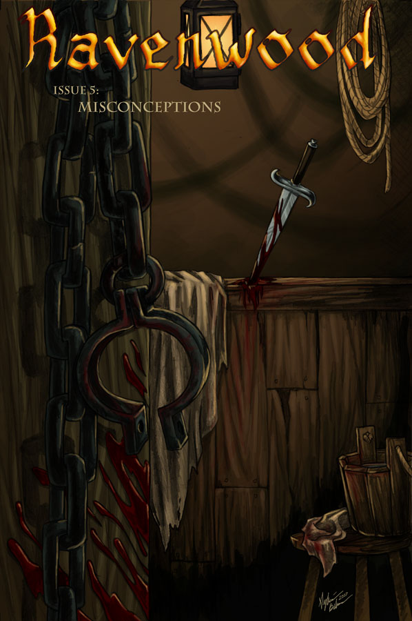 Ravenwood Issue 5 Cover
